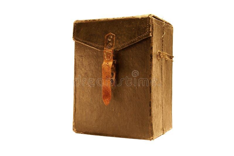 αρχαίο απομονωμένο τσάντα &l στοκ φωτογραφία με δικαίωμα ελεύθερης χρήσης