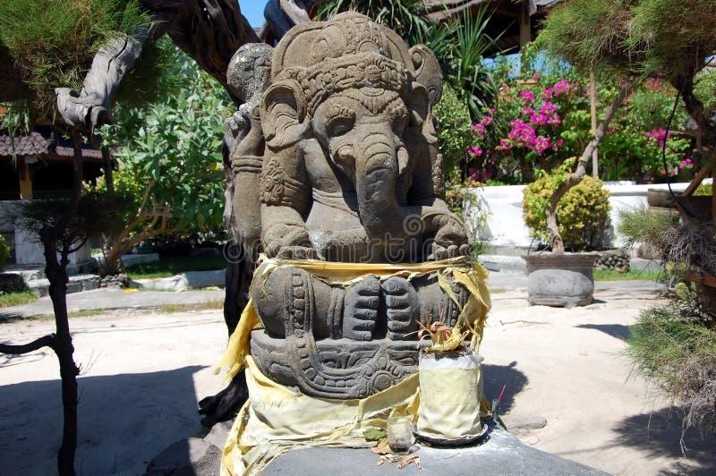 Αρχαίο γλυπτό Ganesha στοκ εικόνα με δικαίωμα ελεύθερης χρήσης