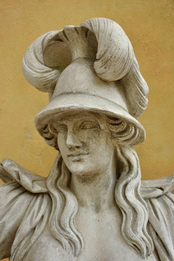 Αρχαίο γλυπτό της γυναίκας στοκ εικόνες