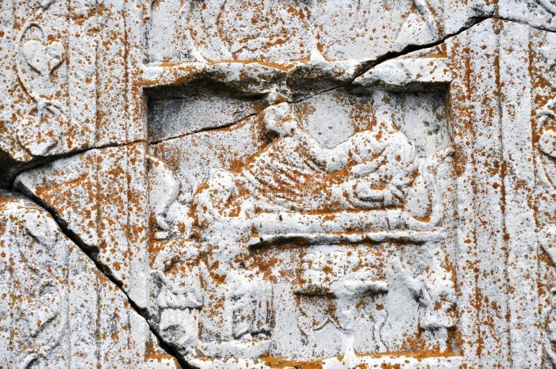 αρχαίο ελληνικό ανάγλυφ&omic στοκ φωτογραφία με δικαίωμα ελεύθερης χρήσης