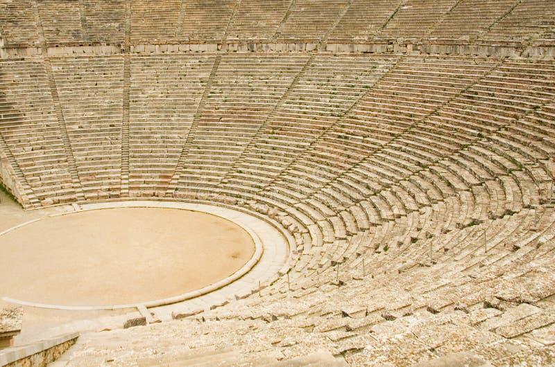 αρχαίο θέατρο της Ελλάδα& στοκ εικόνα με δικαίωμα ελεύθερης χρήσης