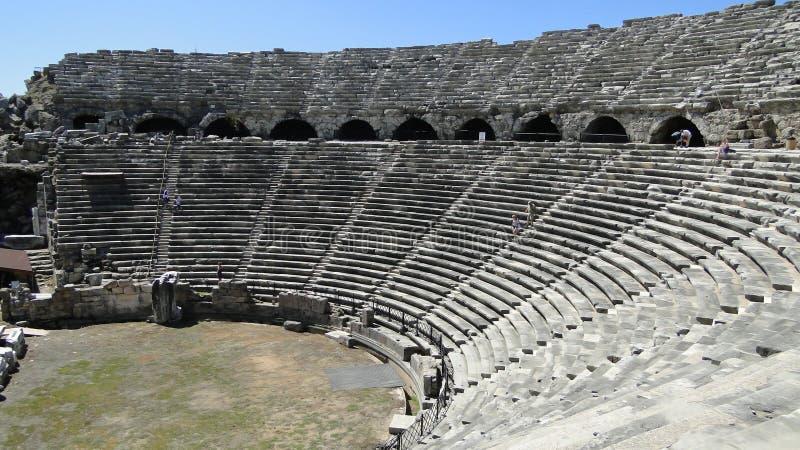 αρχαίο θέατρο στοκ εικόνα με δικαίωμα ελεύθερης χρήσης