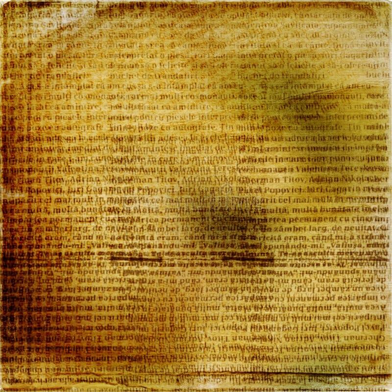 αρχαίο κείμενο grunge ανασκόπη&s διανυσματική απεικόνιση