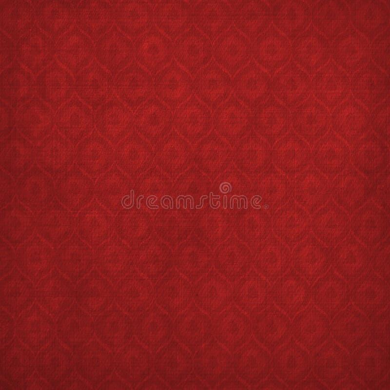 αρχαίο κόκκινο διακοσμή&sigm απεικόνιση αποθεμάτων