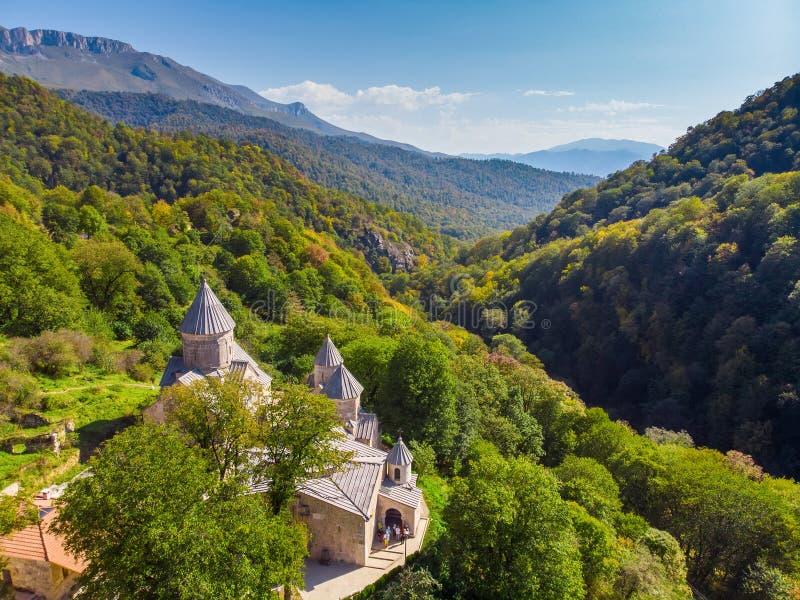 Αρχαίο μοναστήρι Haghartsin _ στοκ εικόνα με δικαίωμα ελεύθερης χρήσης