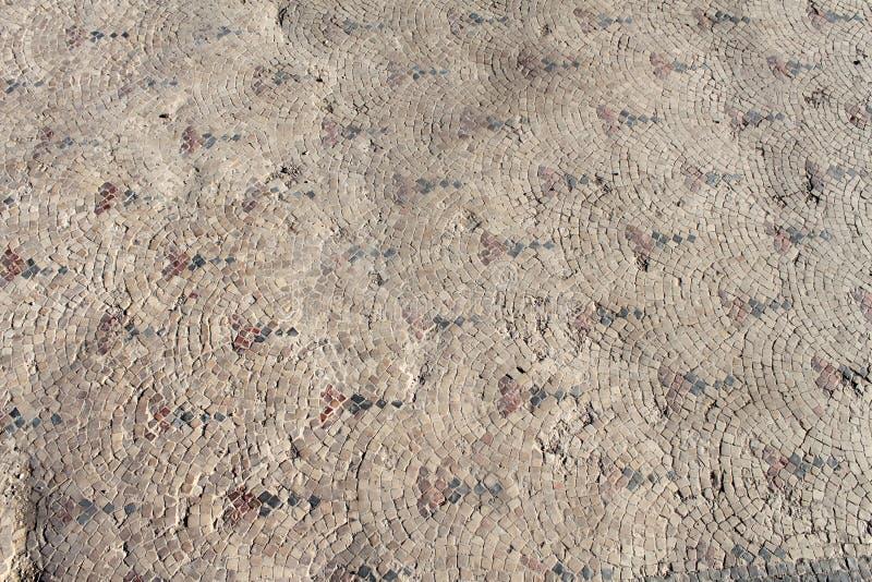 αρχαίο μωσαϊκό στοκ φωτογραφία