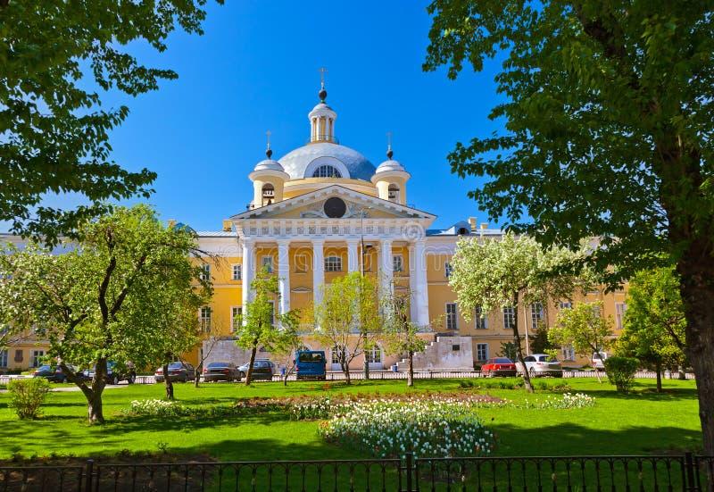 Αρχαίο νοσοκομείο Golitsyn στη Μόσχα Ρωσία στοκ εικόνες
