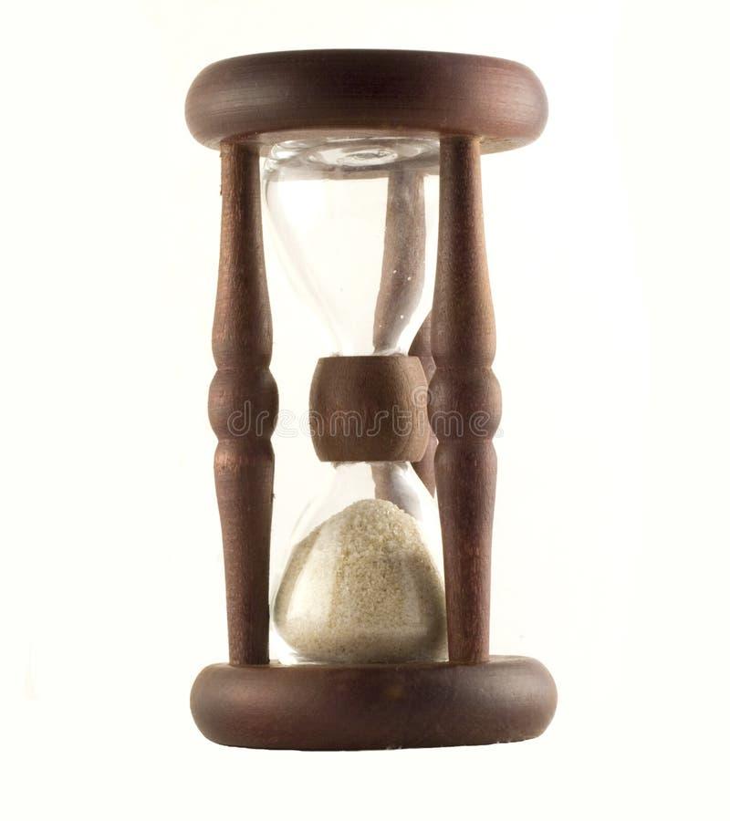Αρχαίο ξύλινο άμμος-γυαλί στοκ εικόνες με δικαίωμα ελεύθερης χρήσης