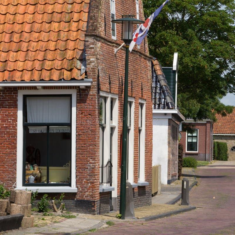 Αρχαίο ολλανδικό παντοπωλείο στοκ εικόνες