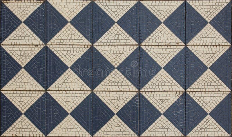 Αρχαίο πάτωμα μωσαϊκών, στοκ φωτογραφία