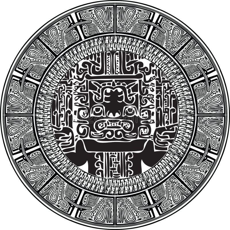 αρχαίο πρότυπο επίσης corel σύρετε το διάνυσμα απεικόνισης απεικόνιση αποθεμάτων