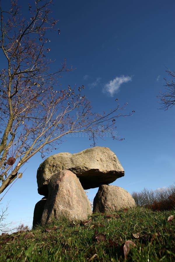 αρχαίο σύμβολο πετρών στοκ εικόνα