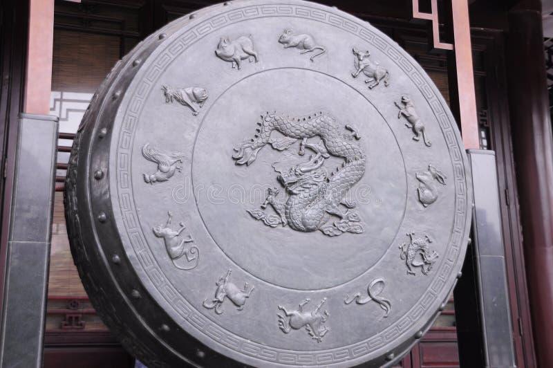 αρχαίο τύμπανο στοκ φωτογραφίες με δικαίωμα ελεύθερης χρήσης