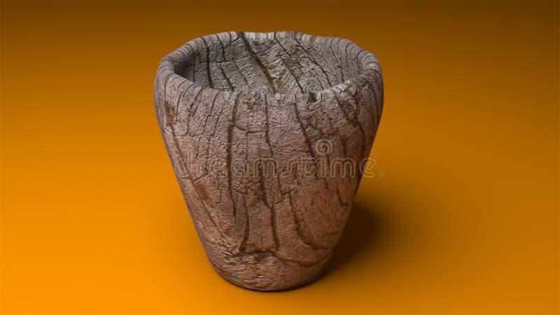 Αρχαίο φλυτζάνι στοκ εικόνα με δικαίωμα ελεύθερης χρήσης