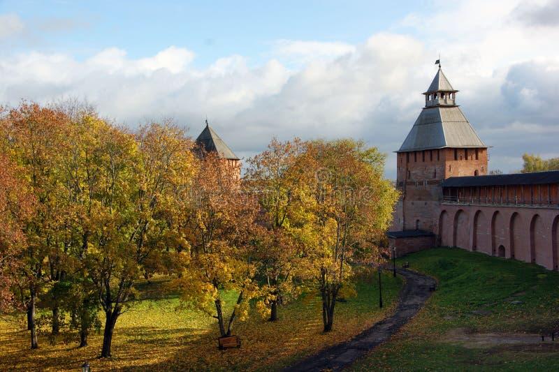 αρχαίο φρούριο ρωσικά στοκ εικόνες με δικαίωμα ελεύθερης χρήσης