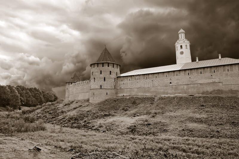 αρχαίο φρούριο στοκ εικόνα με δικαίωμα ελεύθερης χρήσης