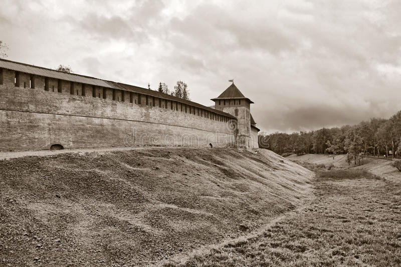αρχαίο φρούριο στοκ εικόνες