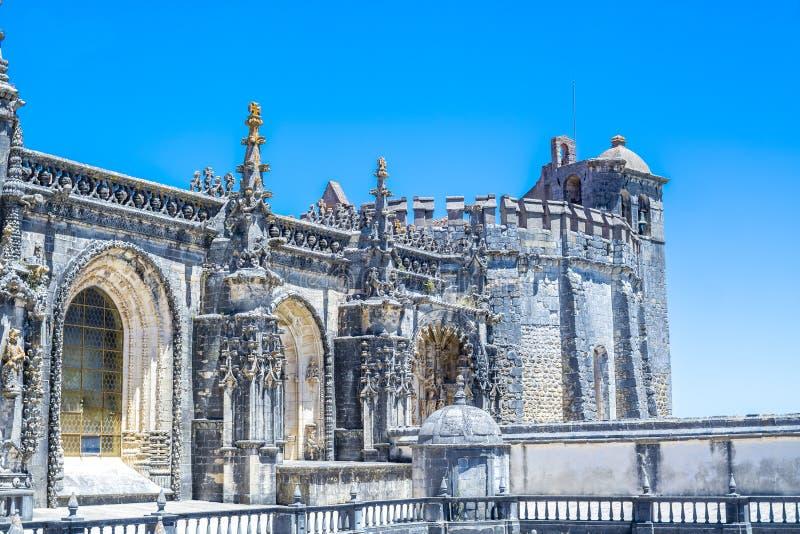 Αρχαίο 600χρονο κάστρο σε Tomar, Πορτογαλία στοκ φωτογραφίες