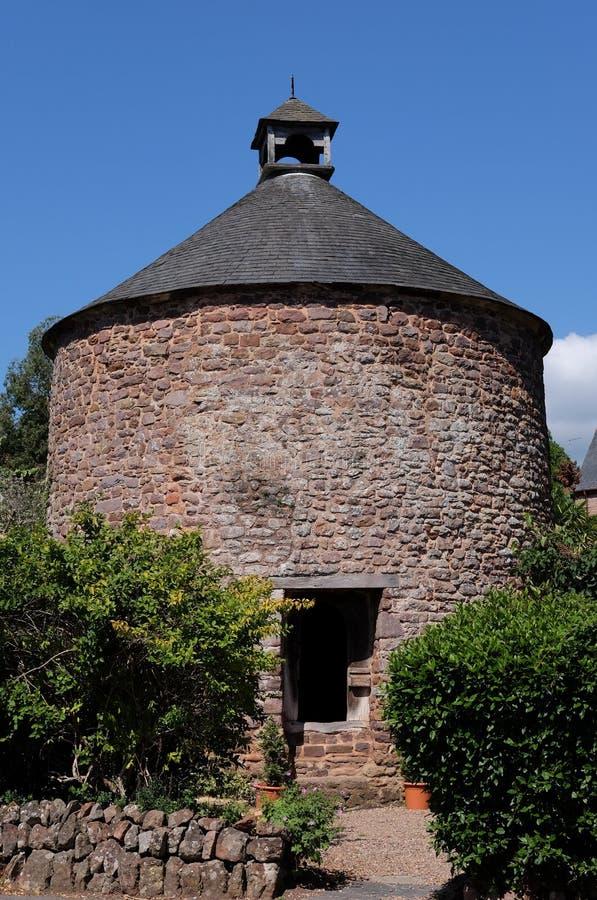 Αρχαίο Dovecote σε Dunster, Somerset, UK στοκ εικόνα με δικαίωμα ελεύθερης χρήσης