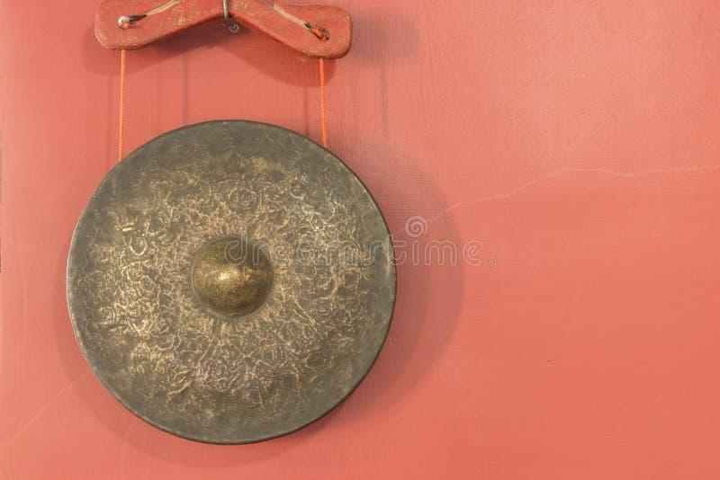 αρχαίο gong στοκ εικόνες με δικαίωμα ελεύθερης χρήσης