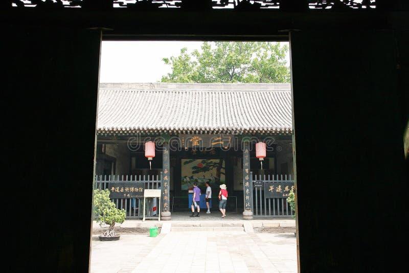 αρχαίο pingyao πόλεων στοκ φωτογραφία