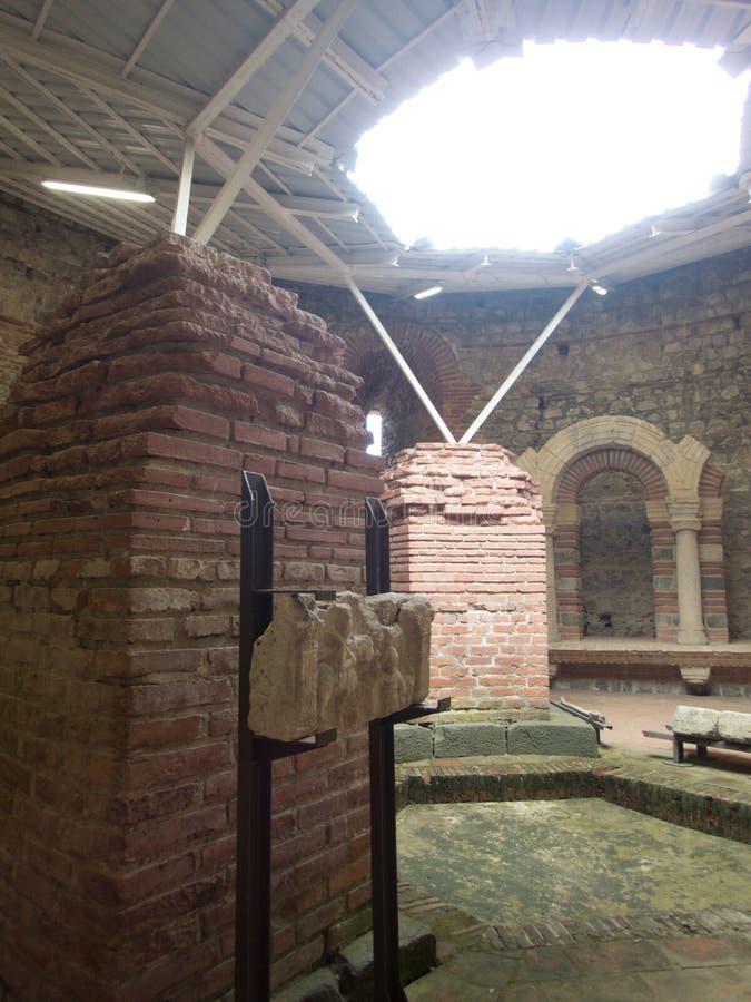 Αρχαίο romuliana περιοχών μνημείων felix στη Σερβία στοκ εικόνες