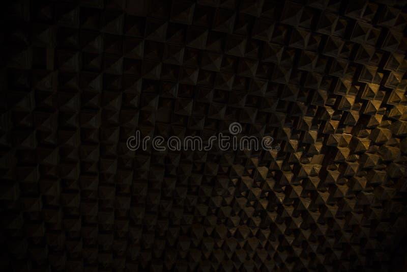Αρχαίο sound-proofing σύστημα στοκ εικόνες