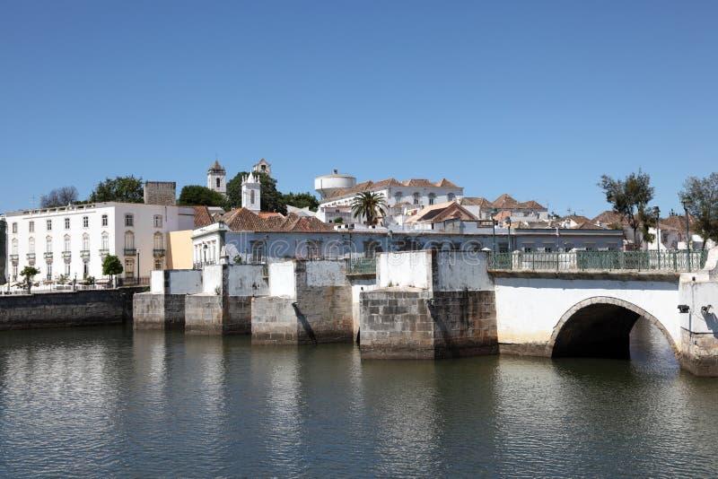 αρχαίο tavira της Πορτογαλίας γεφυρών στοκ εικόνες