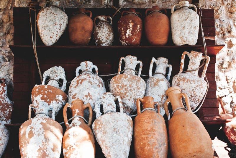 Αρχαίο vase στοκ εικόνα με δικαίωμα ελεύθερης χρήσης