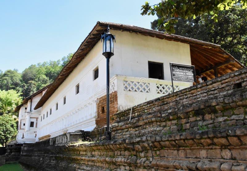 Αρχαιολογικό μουσείο σε Kandy στοκ εικόνες με δικαίωμα ελεύθερης χρήσης