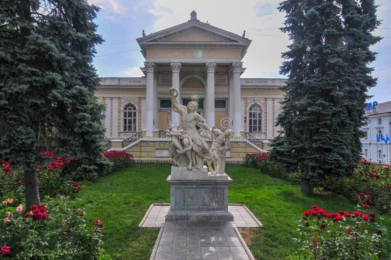 Αρχαιολογικό μουσείο της Οδησσός - Ουκρανία στοκ εικόνες