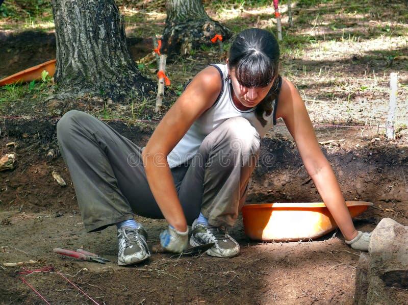 αρχαιολόγος 6 στοκ εικόνα