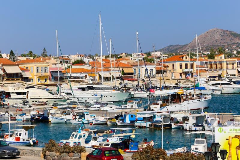 αρχαιολογική περιοχή kolona νησιών της Ελλάδας aegina στοκ εικόνες