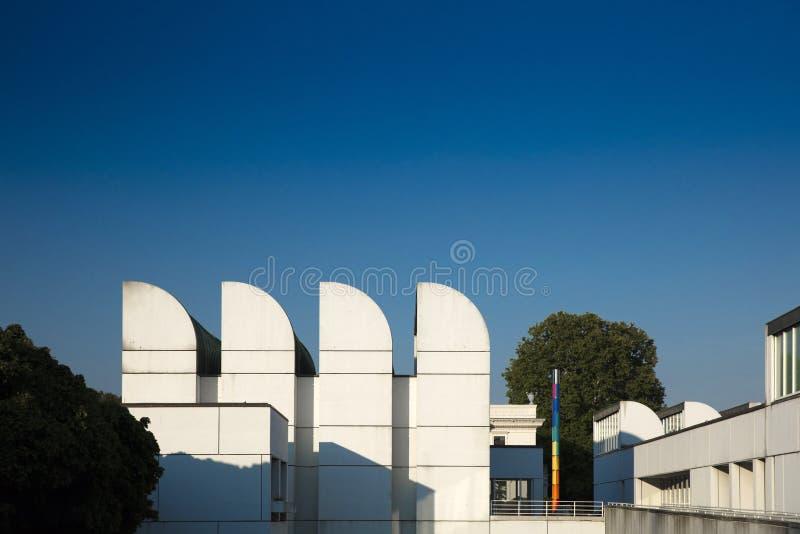 Αρχείο Bauhaus, Βερολίνο, Γερμανία - 20 Αυγούστου 2018 - άποψη του BA στοκ εικόνα με δικαίωμα ελεύθερης χρήσης