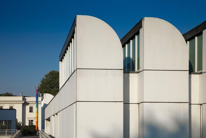 Αρχείο Bauhaus, Βερολίνο, Γερμανία - 20 Αυγούστου 2018 - άποψη του BA στοκ φωτογραφίες με δικαίωμα ελεύθερης χρήσης