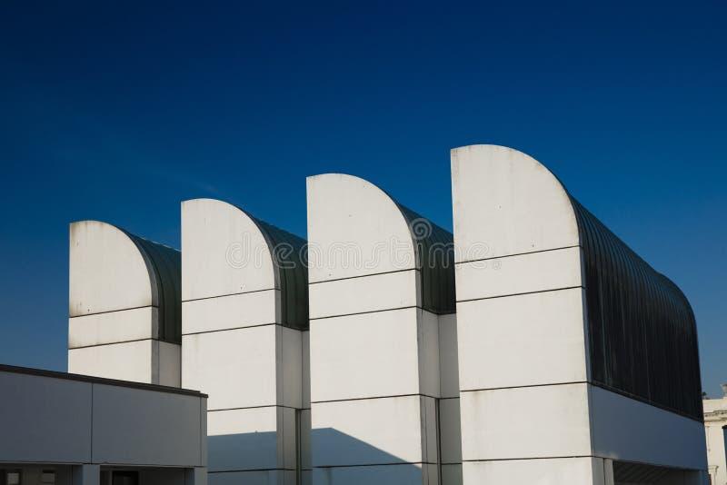Αρχείο Bauhaus, Βερολίνο, Γερμανία - 20 Αυγούστου 2018 - άποψη του BA στοκ φωτογραφία