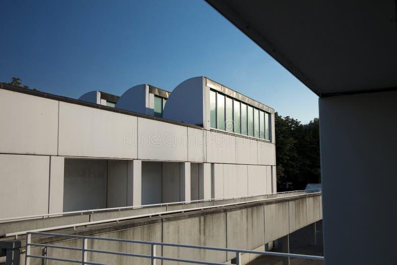Αρχείο Bauhaus, Βερολίνο, Γερμανία - 20 Αυγούστου 2018 - άποψη του BA στοκ φωτογραφίες