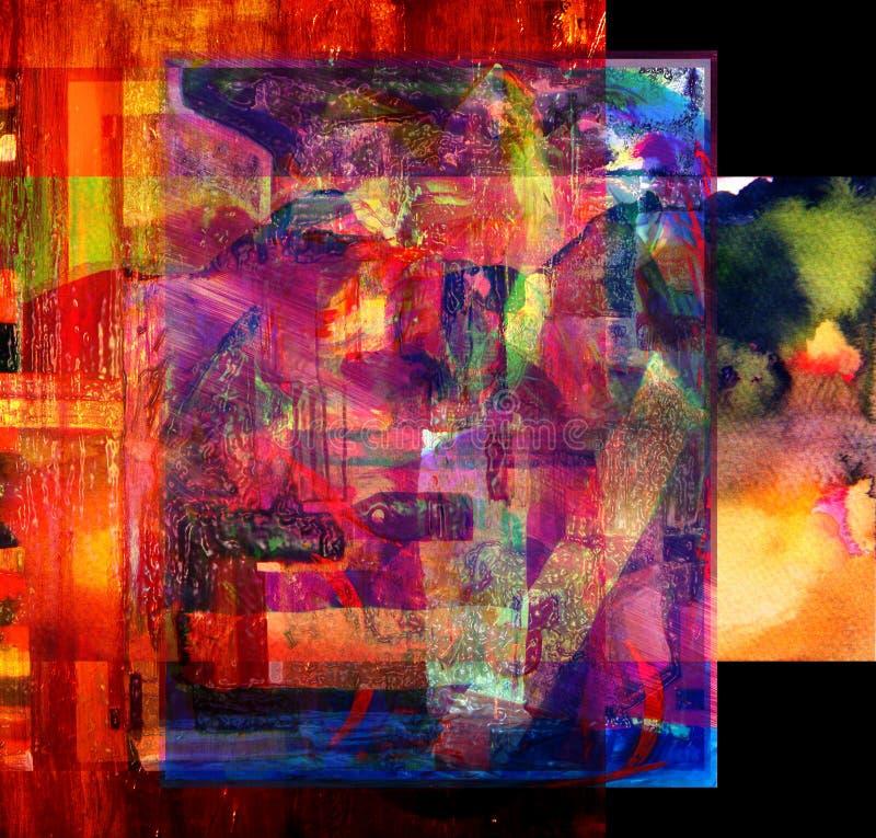 αρχική ζωγραφική διανυσματική απεικόνιση