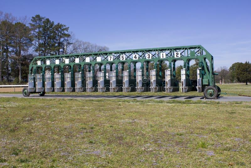 Αρχική πύλη ιπποδρόμου στοκ φωτογραφία με δικαίωμα ελεύθερης χρήσης