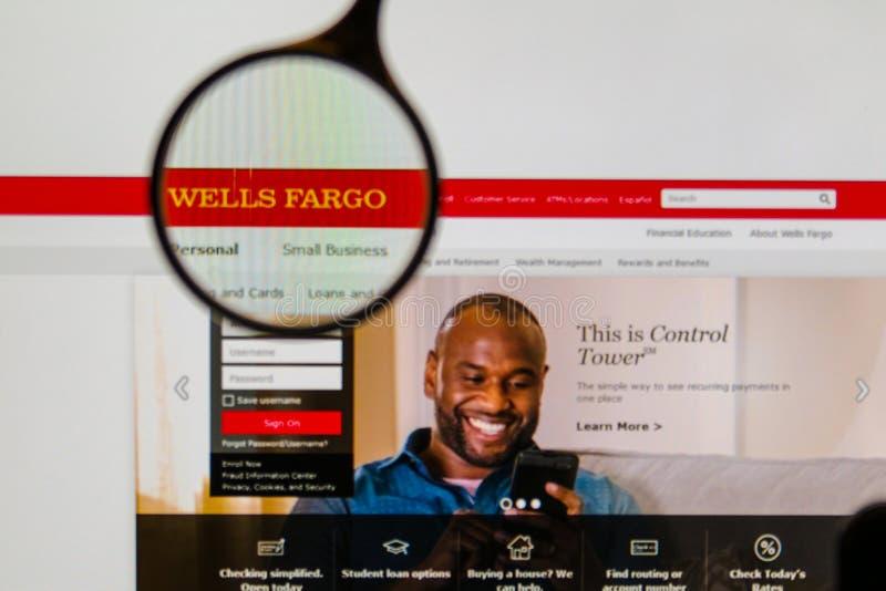 Αρχική σελίδα ιστοχώρου Fargo φρεατίων στοκ εικόνες με δικαίωμα ελεύθερης χρήσης