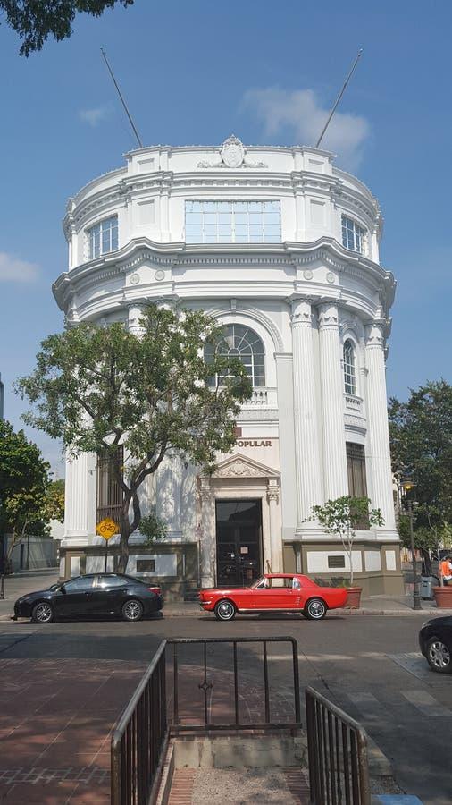 Αρχική τράπεζα του κτηρίου Ponce στοκ φωτογραφία με δικαίωμα ελεύθερης χρήσης