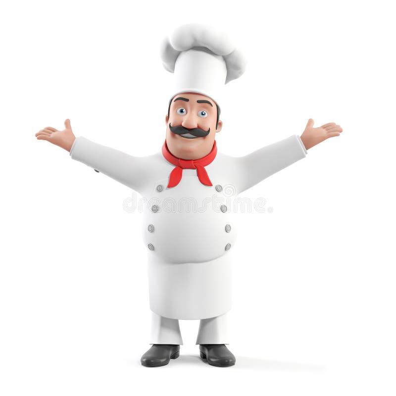Αρχιμάγειρας κουζινών απεικόνιση αποθεμάτων