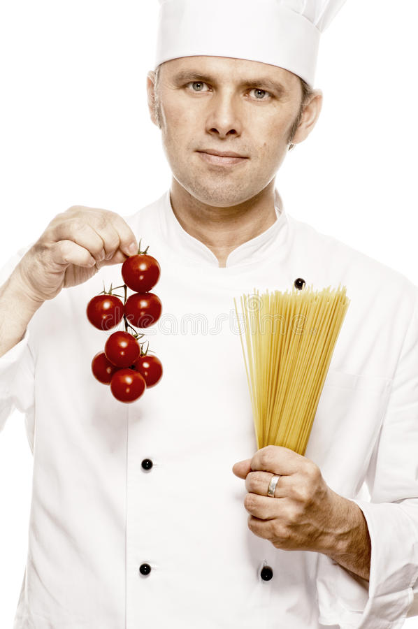 Αρχιμάγειρας Serie στοκ φωτογραφία