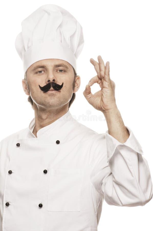 Αρχιμάγειρας serie στοκ εικόνες