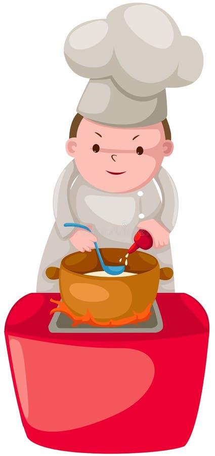 Download αρχιμάγειρας διανυσματική απεικόνιση. εικονογραφία από άνθρωποι - 22784203
