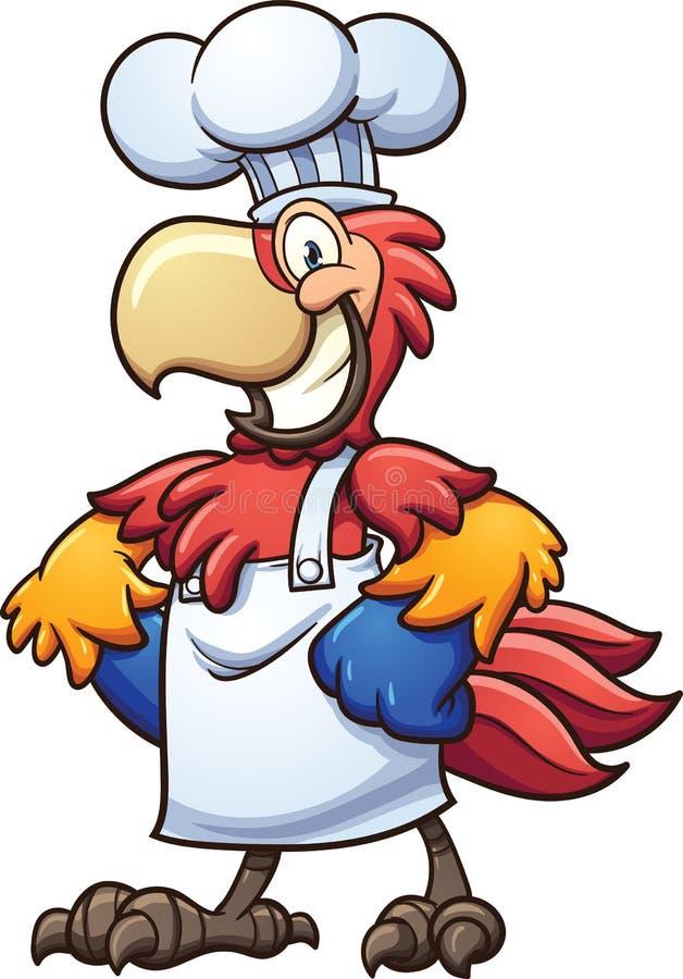 Αρχιμάγειρας macaw ελεύθερη απεικόνιση δικαιώματος