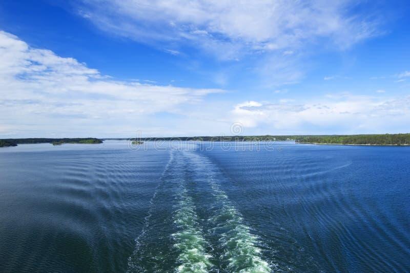 αρχιπέλαγος σουηδικά στοκ εικόνες με δικαίωμα ελεύθερης χρήσης