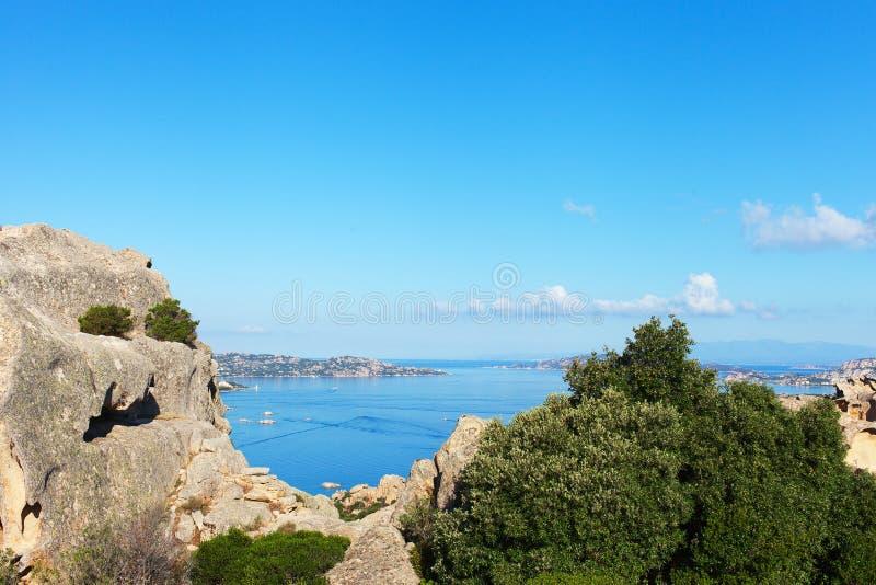 Αρχιπέλαγος της Maddalena, Σαρδηνία. στοκ εικόνα με δικαίωμα ελεύθερης χρήσης