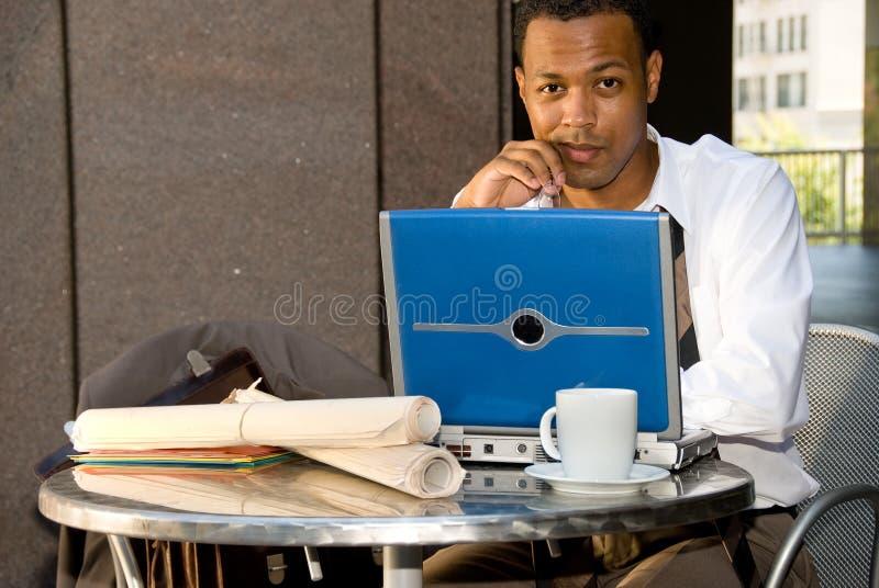 αρχιτέκτονας αφροαμερικάνων στοκ εικόνα με δικαίωμα ελεύθερης χρήσης