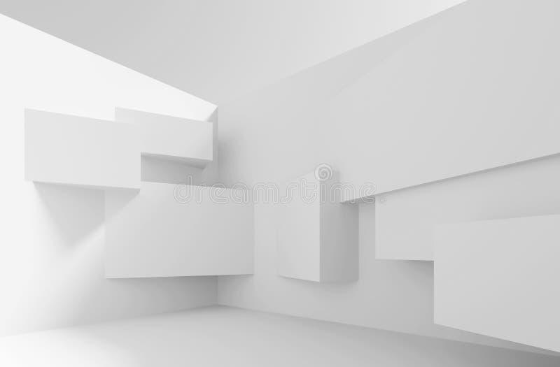 αρχιτεκτονικής βαθύ σχέδιο πυξίδων ανασκόπησης μπλε απεικόνιση αποθεμάτων